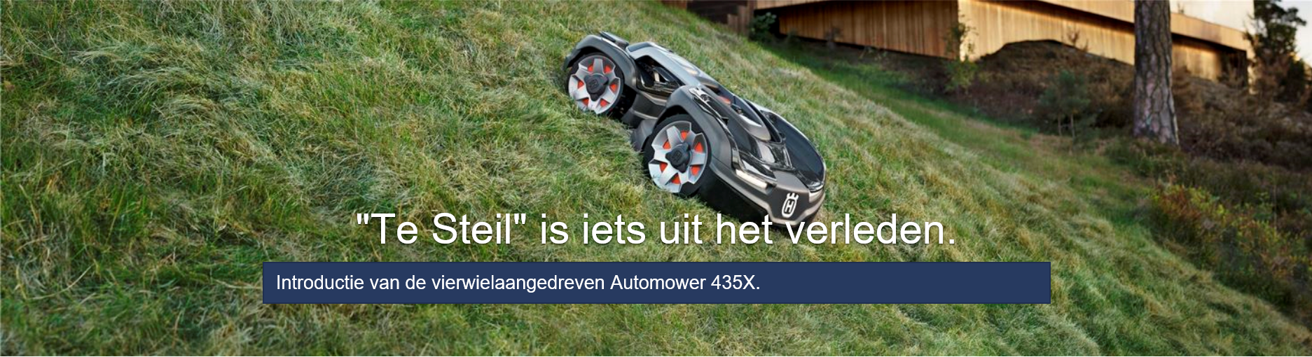 All Wheel Drive robotmaaier